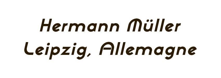 Les plumes Hermann Müller