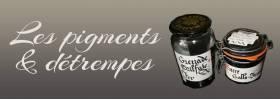Les pigments et détrempes